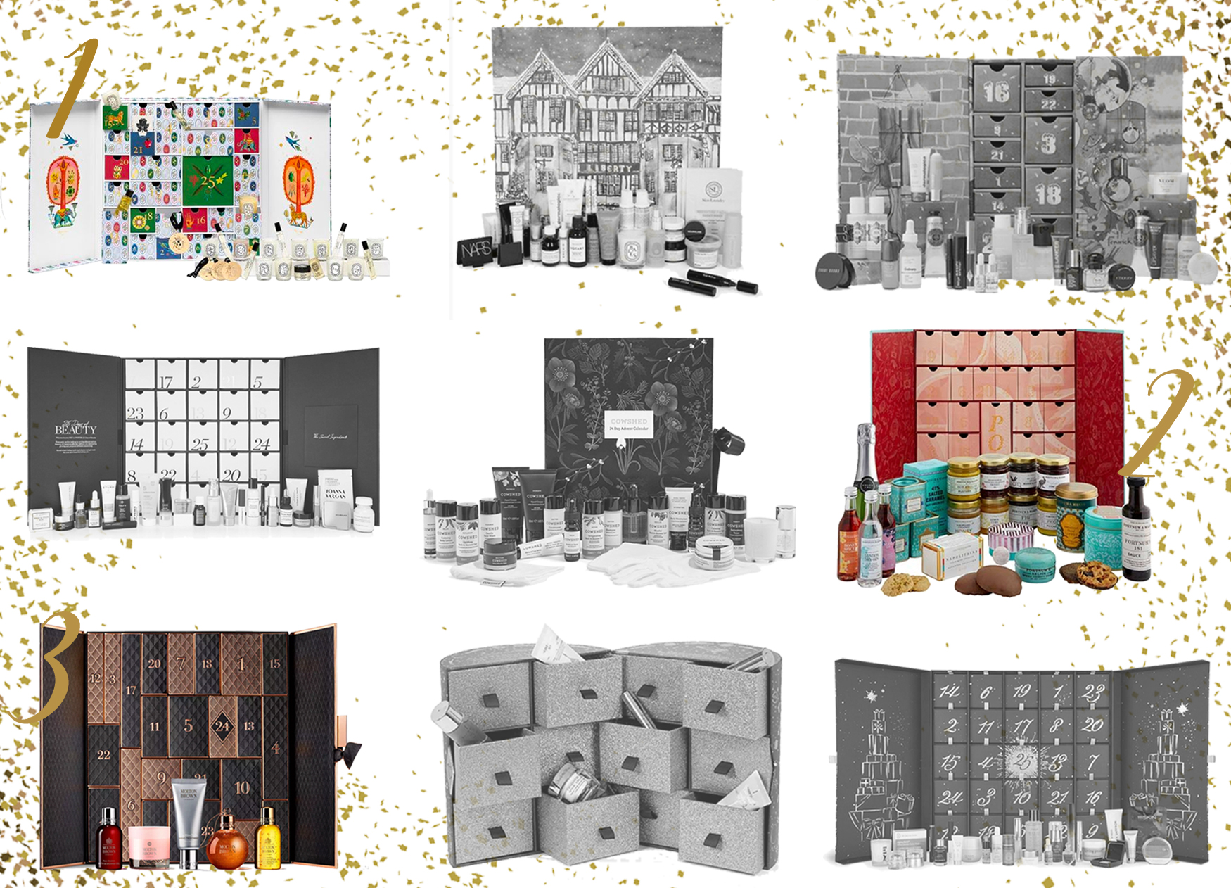 Tailored Living's 3 Favourite Advent Calendars